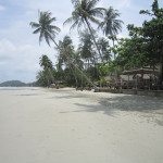 klong prao beach on koh chang