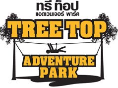 logo of treetop adventure park koh chang