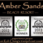 logo of amber sands koh chang