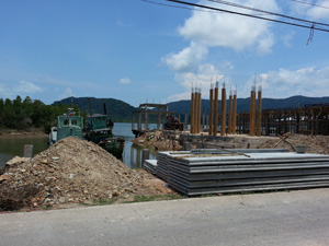 toll piers on koh chang