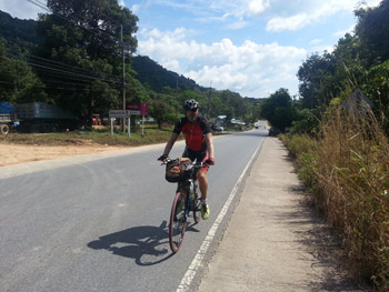 cycling on koh chang