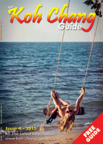 cover of the october 2015 koh chang guide