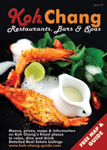 cover of koh chang restaurants bars and spas oct 2015