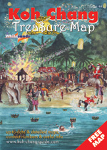 cover of koh chang treasure map oct 2015