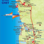 map of klong prao and chai chet koh chang