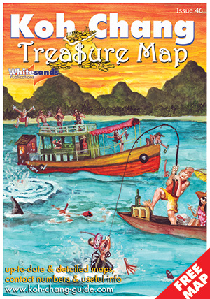 koh chang treasure map cover