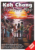 koh chang treasure map cover july 2017