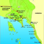 Trat Province Map