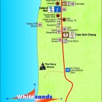 White Sand Beach South Map